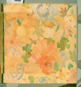 Front free endpaper in the book, Philopolis, A Monthly Magazine for Those Who Care (San Francisco: 1908), vol. 2