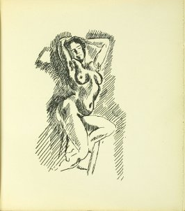 Untitled, in the book Les Jockeys camouflés by Pierre Reverdy (Paris: A la Belle Édition, 1918)