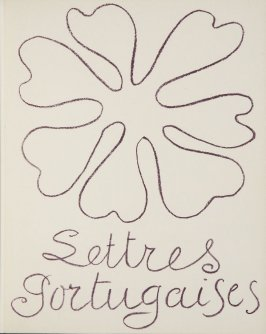 Original cover, in the book Lettres (Lettres Portugaises) by Marianna Alcaforado (Paris: Tériade Éditeur, 1946)