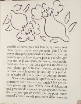 Untitled, ornament, pg. 103, in the book Lettres (Lettres Portugaises) by Marianna Alcaforado (Paris: Tériade Éditeur, 1946)