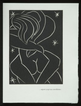 """... emportés jusqu' aux constellations ..."", pg. 31, in the book Pasiphaé: Chant de Minos (Les Crétois) by H. de Montherlant (Paris: Martin Fabiani, 1944)."