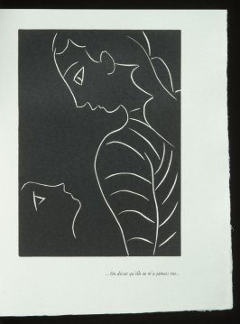 """... On dirait qu'elle ne m'a jamais vue ..."", pg. 105, in the book Pasiphaé: Chant de Minos (Les Crétois) by H. de Montherlant (Paris: Martin Fabiani, 1944)."