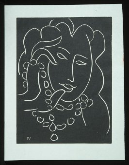 Untitled, IV, (from the suite) in the book Pasiphaé: Chant de Minos (Les Crétois) by H. de Montherlant (Paris: Martin Fabiani, 1944).
