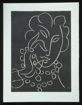 Untitled, V, (from the suite) in the book Pasiphaé: Chant de Minos (Les Crétois) by H. de Montherlant (Paris: Martin Fabiani, 1944).
