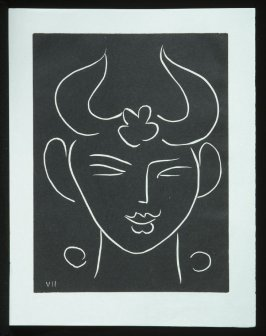 Untitled, VII, (from the suite) in the book Pasiphaé: Chant de Minos (Les Crétois) by H. de Montherlant (Paris: Martin Fabiani, 1944).