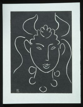 Untitled, IX, (from the suite) in the book Pasiphaé: Chant de Minos (Les Crétois) by H. de Montherlant (Paris: Martin Fabiani, 1944).