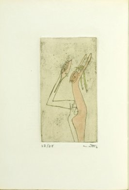 Frontispiece, in the book Arcane 17 by André Breton (New York: Brentano's, 1944)
