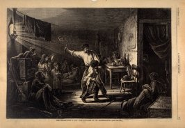 The Italian Boys in New York - Tortures of the Training-Room - p.801 Harper's Weekly 13 September 1873