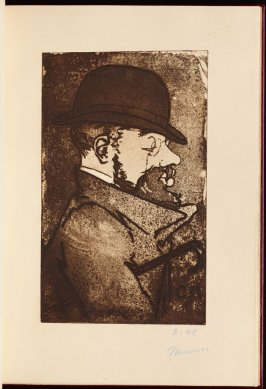 Portrait of the Artist, frontispiece in the book Histoires naturelles (Natural History) by Jules Renard (Paris: Henri Floury, 1900)