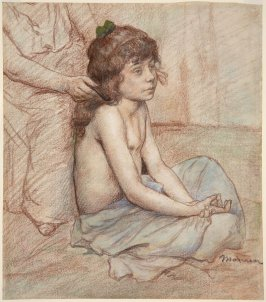 Untitled (Seated Child)