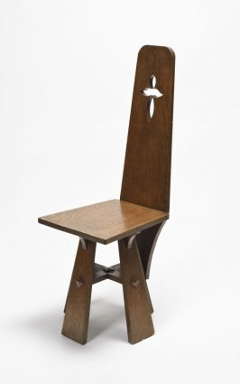 "Sidechair for the Schneider House ""Semper Virens,"" Berkeley, California"