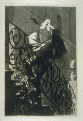 The King's Jester, plate 11 in the book, Choice Etchings (London: Alexander Strahan, 1887)