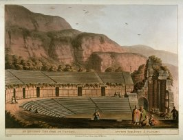 An Ancient Theatre at Cacamo, from the book Views in Egypt, Views in the Ottoman Empire, and Views in Palestine (London, 1801-1804) (3 vols.)