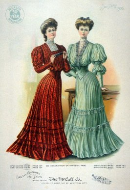 Dressy Costumes for Ladies issued only by The McCall Co.