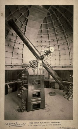 The Great Equatorial Telescope Lick Observatory, Mount Hamilton