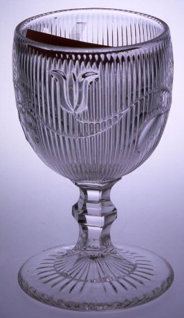 Goblet with Bellflower pattern