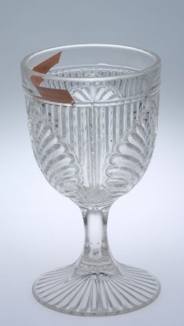 Goblet with Ribbed Palm pattern