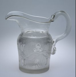 Water pitcher with Bellflower pattern