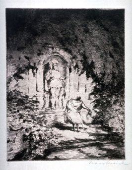 "Etching from Mozart's Opera ""Don Giovanni"""