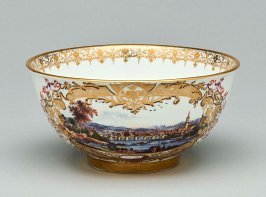 Bowl with the Arms of Pope Benedict XIV