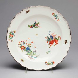 Kakiemon decorated plate