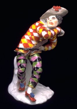 Figurine of Harlequin