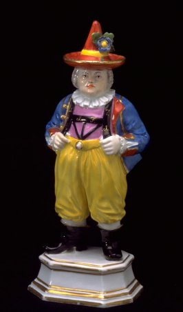 Figurine of court jester, Frohlich
