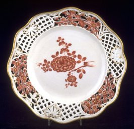 Reticulated Plate from the General Mollendorf Service