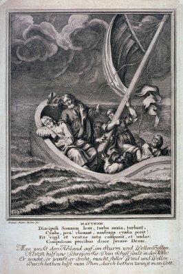 [Matth.VIII-The Tempest on the Sea of Gallilee]