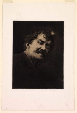 Portrait of J.A.M. Whistler