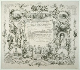 Maurergesellenbrief (Diploma for journeymen masons)