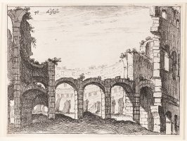 The Colosseum, pl. 48 from the series Alcune vedute et prospettive di luoghi dishabitati di Roma (Some Views and Perspectives of the Uninhabited Places of Rome)