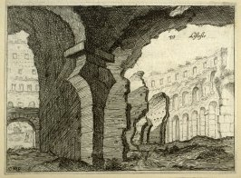 Listesse (The Same[i.e.Amphitheater of the Coliseum]), pl. 49 from the series Alcune vedute et prospettive di luoghi dishabitati di Roma (Some Views and Perspectives of the Uninhabited Places of Rome)