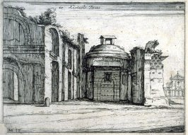 Listesse Terme (The Same Baths), pl. 10 from the series Alcune vedute et prospettive di luoghi dishabitati di Roma (Some Views and Perspectives of the Uninhabited Places of Rome)