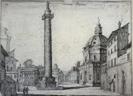 Colonna Traiana (Trajan's Column), pl. 23 from the series Alcune vedute et prospettive di luoghi dishabitati di Roma (Some Views and Perspectives of the Uninhabited Places of Rome)