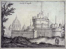 Castelo St. Angelo (Castel Sant'Angelo), pl. 29 from the series Alcune vedute et prospettive di luoghi dishabitati di Roma (Some Views and Perspectives of the Uninhabited Places of Rome)