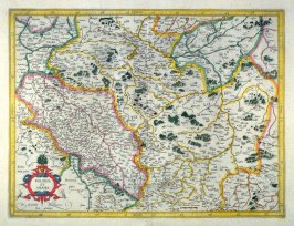 Map of Poland and Silesia