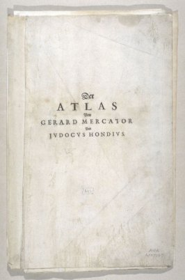 Title page, table of contents, and text etc. of The Atlas of Gerard Mercator and Judocus Hondius