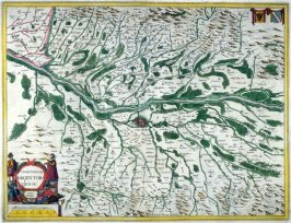 Map of Strasburg and Environs