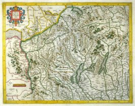 Map of Southeastern Switzerland and Lombardy