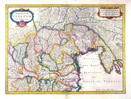 Map of Venice and environs