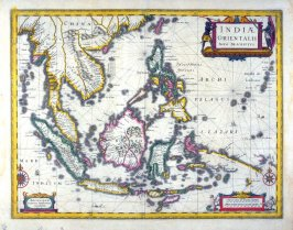 Map of the East Indies, and Indo China
