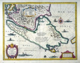 Map of Patagonia and the Straits of Magellan