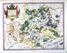 Map of Waldeck, Germany