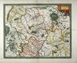 Map of the Rhenish Palatinate