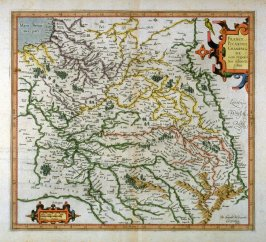 Map of France, Picardy & Champagne