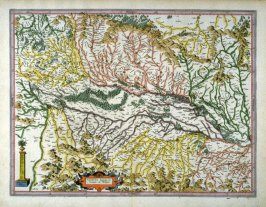 Map of Upper Alsace