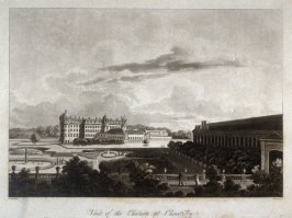 View of the Chateau at Chantilly
