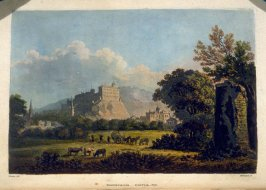 Edinburgh Castle No. II, plate opposite page 53 in the bookRemarks on Local Scenery and Manners in Scotland During the Years 1799 and 1800 by John Stoddart (London: William Miller, 1801), vol. 1( of 2)