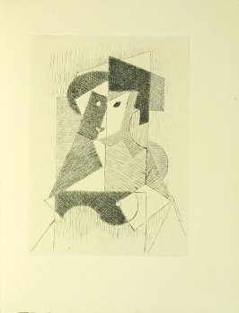 Untitled illustration by Jean Metzinger in the book Du cubisme (Paris: Compagnie Française des Arts Graphiques, 31 July 1947).